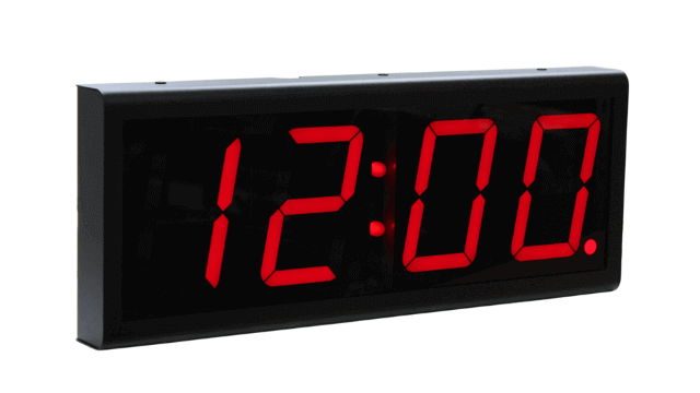 Ethernet Wall Clock